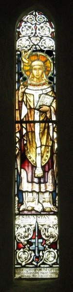 St Dunstan window Warwick Child